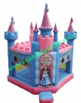 YF-inflatable princess bouncy castle-37