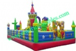 YF-snow white inflatable amusement park-42