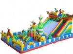 YF-inflatable playground slide-28