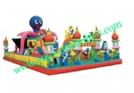 YF-inflatable fun city-24