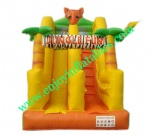 YF-jungle inflatable slide-133