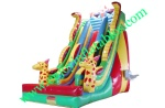 YF-Giraffe inflatable slide-115