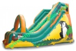 YF-inflatable dry slide-112