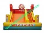YF-clown inflatable slide-101