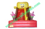 YF-spongebob inflatable slide-100