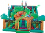 YF-inflatable Bosque slide-91