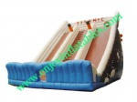 YF-inflatable double lane slip slide-76