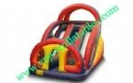 YF-double lane inflatable slide-71