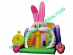 YF-rabbit inflatable slide-62