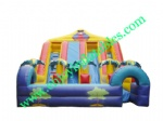 YF-jungle inflatable slide-51