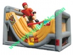 YF-skateboard inflatable slide-47