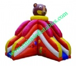 YF-bear inflatable slide-44