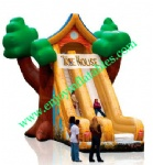 YF-inflatable tree house slide-37