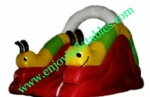 YF-inflatable snail slide-28