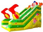 YF-clown inflatable slide-24