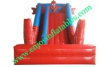 YF-spiderman inflatable dry slide-20