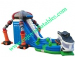 YF-inflatable dry slide-19