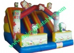 YF-Hellokitty  inflatable slide-16