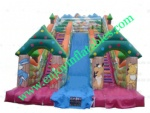 YF-animal inflatable slide-09