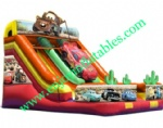 YF-cars inflatable slide-04