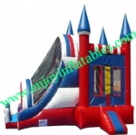 YF-inflatable bouncer slide combo-47