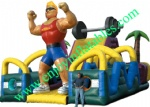YF-inflatable obstacle course-24