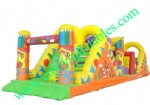 YF-inflatable obstacle course-12