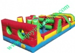 YF-inflatable obstacle course-1