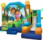 YF-inflatable combo slide-58