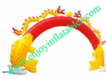 YF-dragon inflatable arch-9