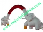 YF-elephant inflatable arch-3