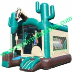 YF-inflatable bouncer combo-71