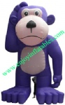 YF-inflatable purple dog-30