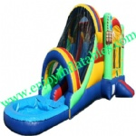 YF-inflatable slide combo-72