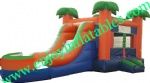YF-inflatable slide combo-74