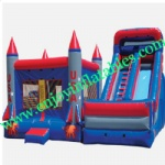 YF-giant inflatable combo slide-88